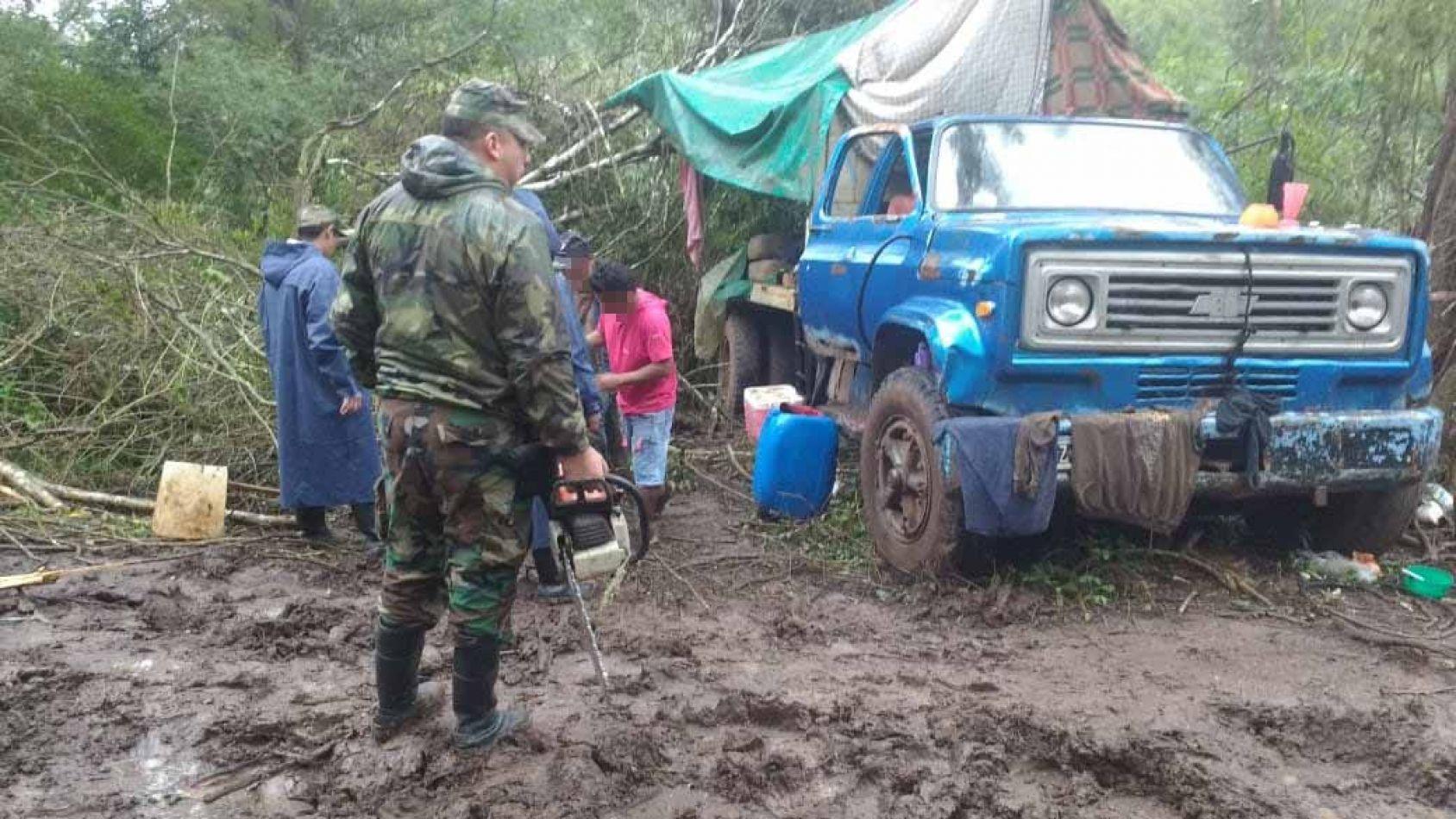Evitaron un desmonte ilegal en Campo Durán