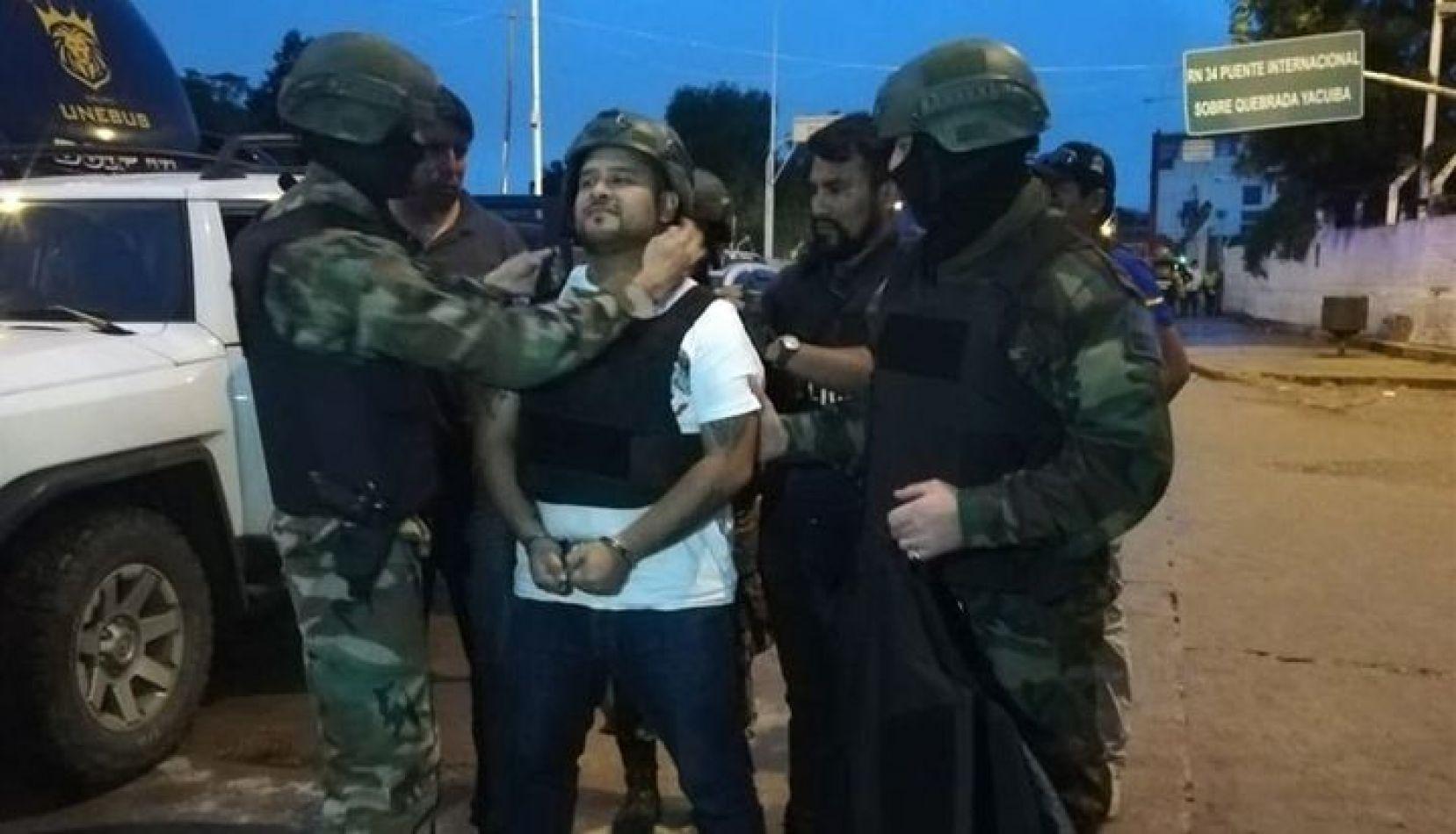 Hoy indagarán a Mauricio Gerónimo, el exconcejal narco capturado en Bolivia