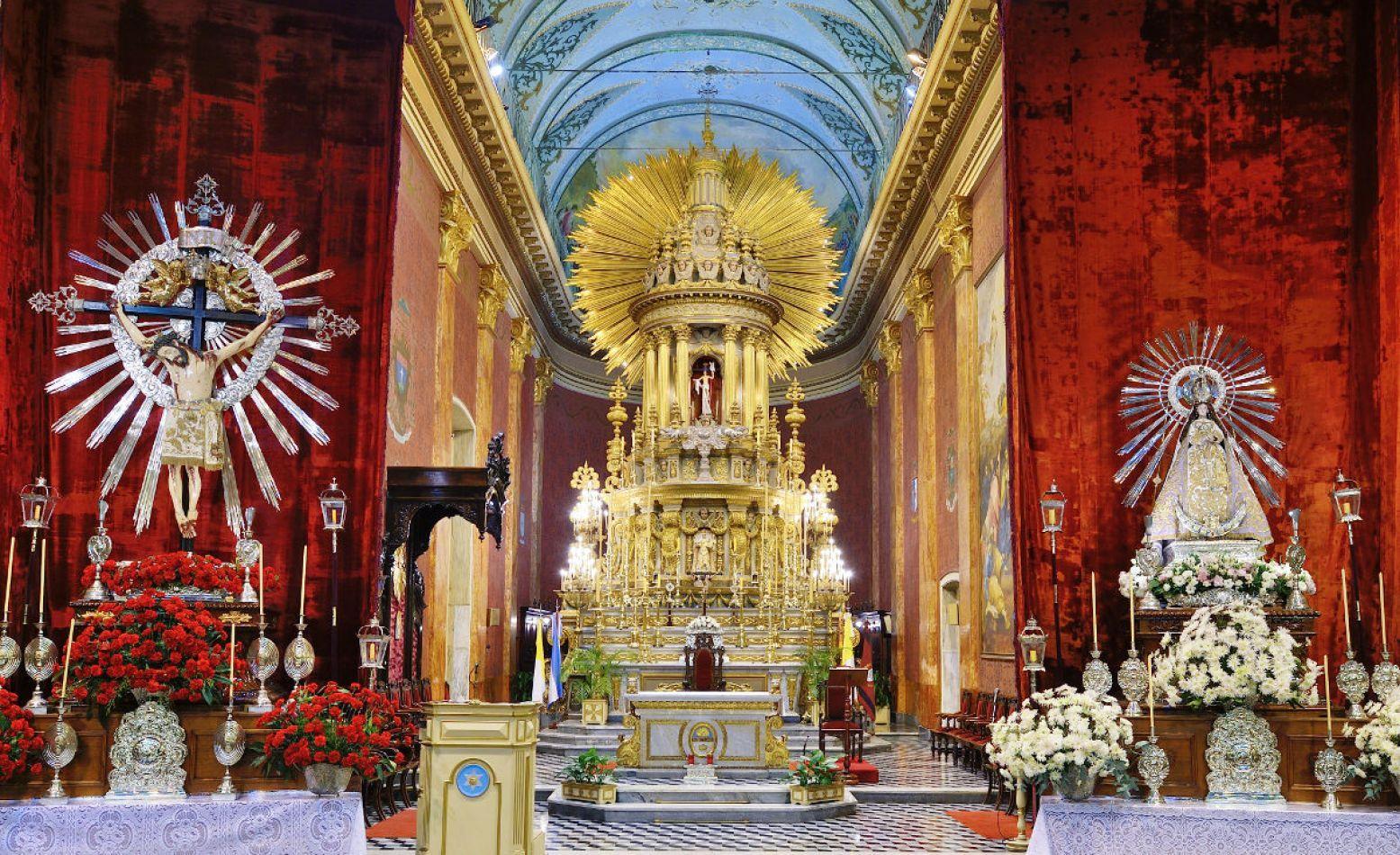 Este Sabado Entronizan Las Imagenes Del Senor Y La Virgen Del
