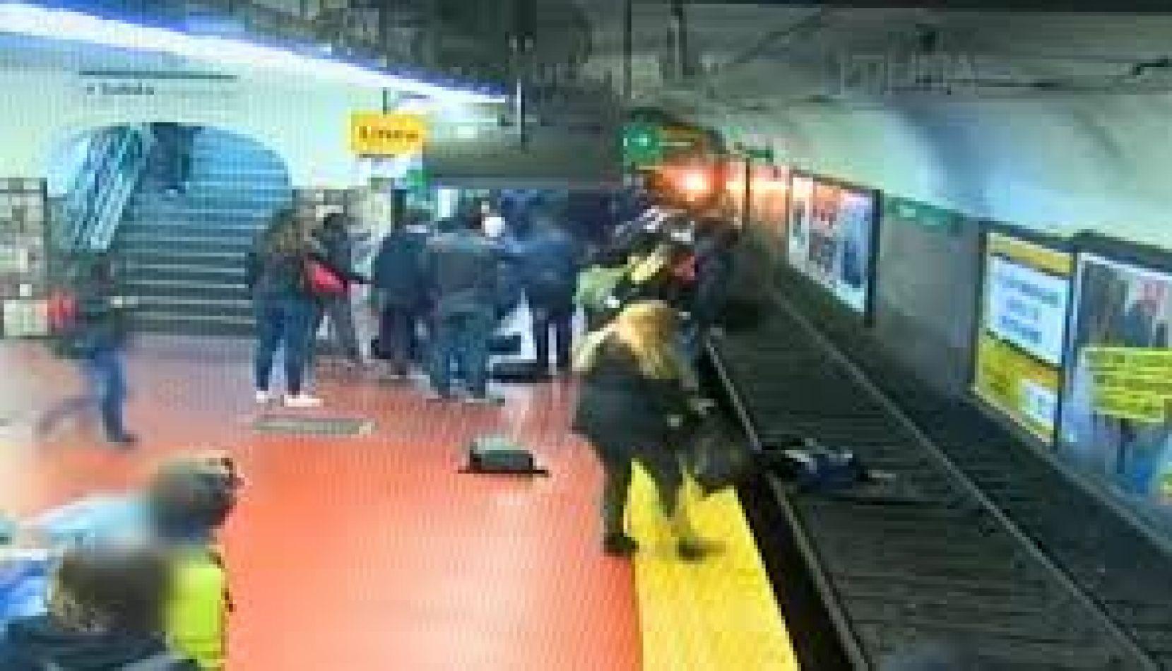 ¿Accidente o intento de robo? Lo que nadie vio de la casi tragedia de la estación Pueyrredón