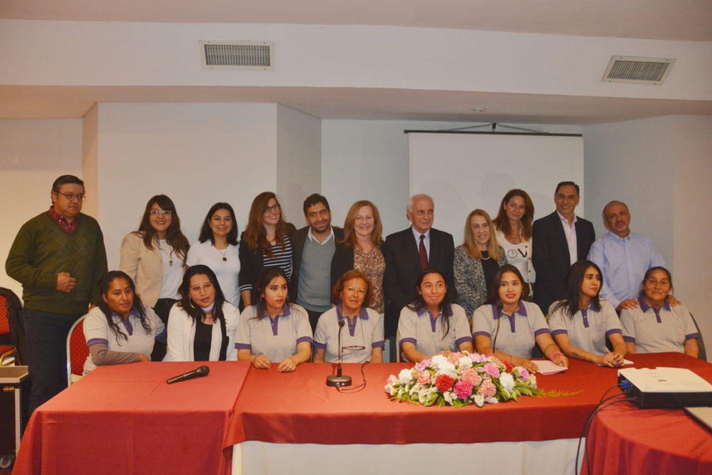 Funciona en Salta la primera empresa social de mujeres víctimas de violencia de género