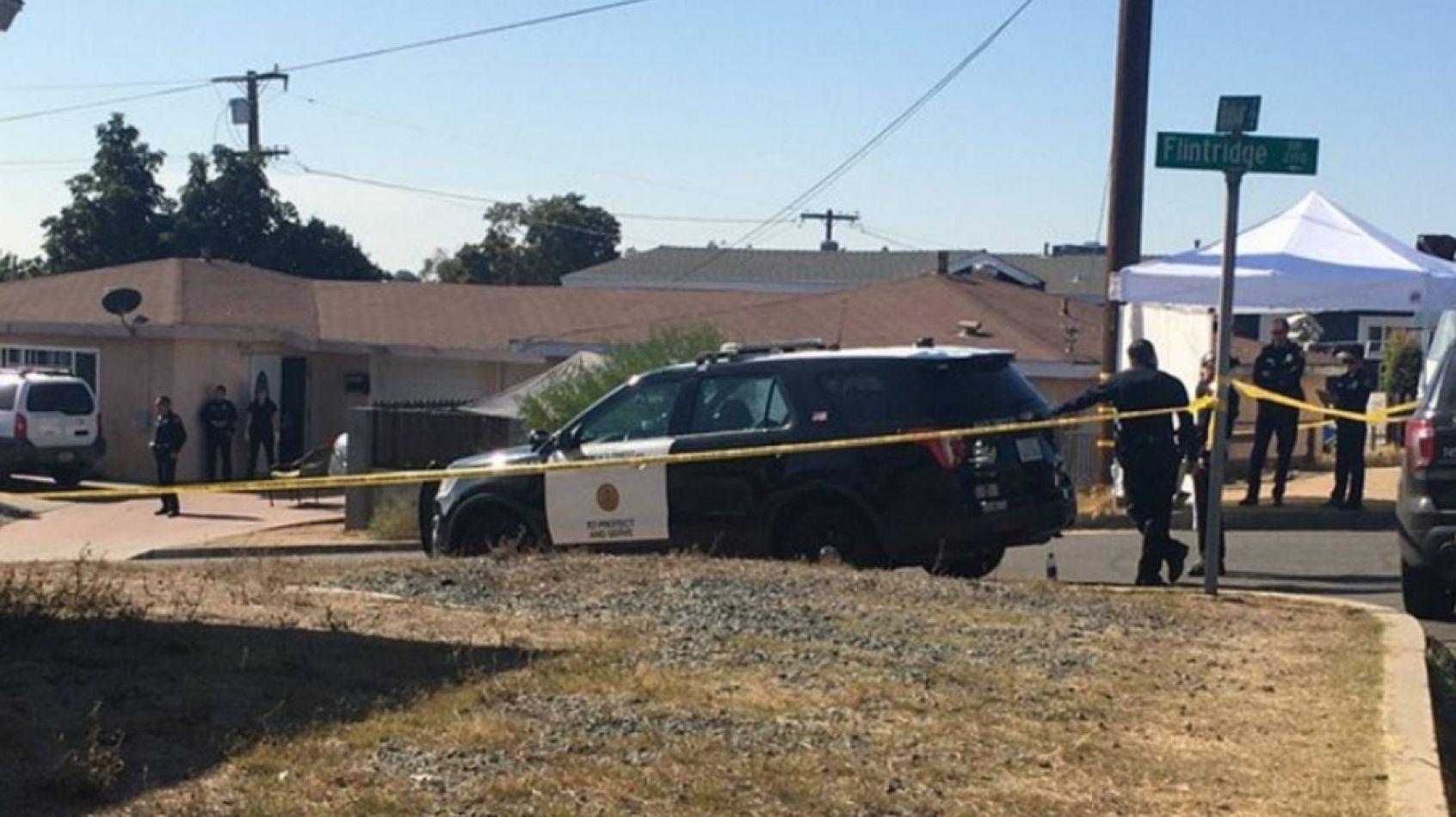 Tres niños y dos adultos muertos tras un tiroteo en San Diego