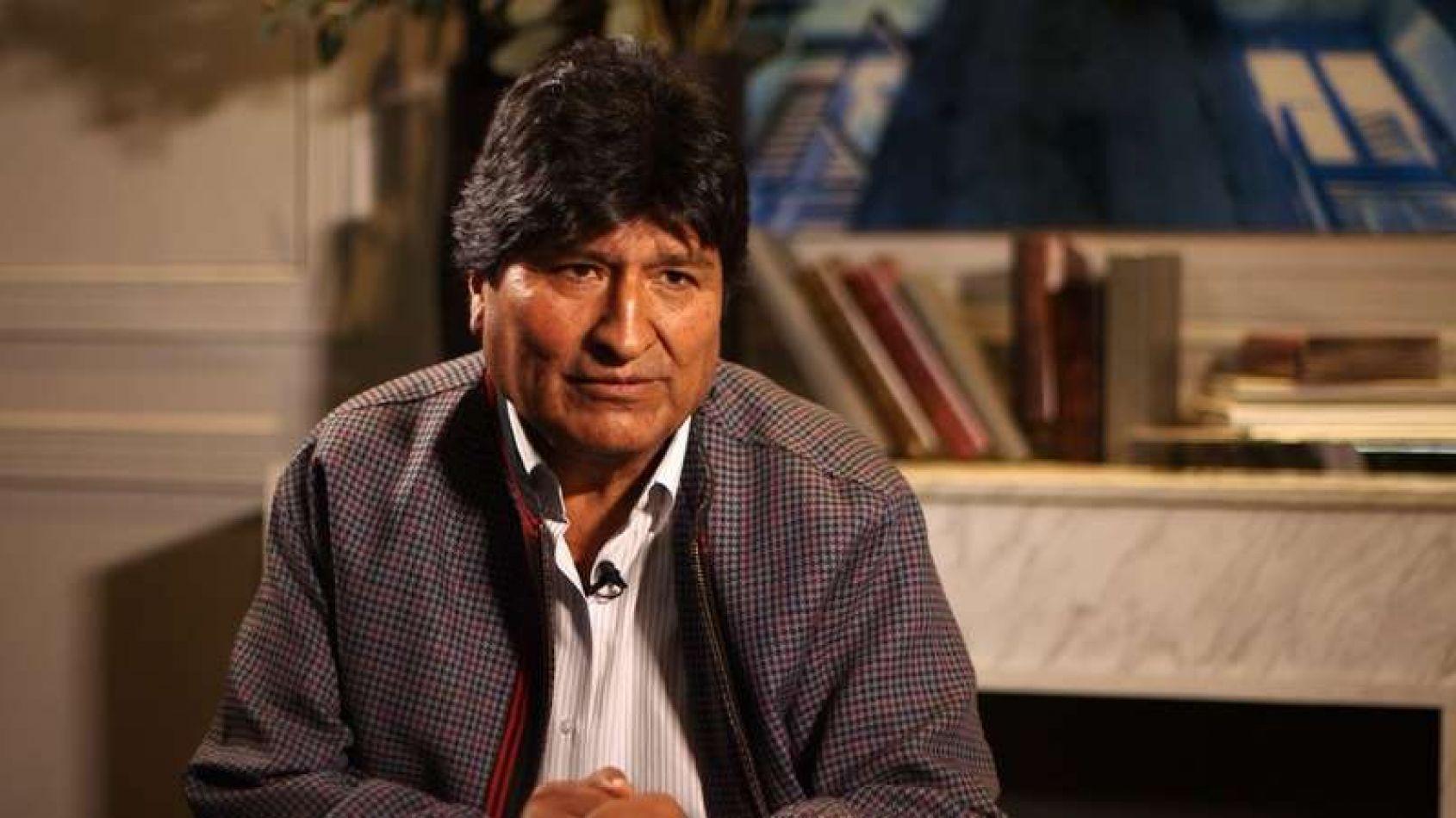 Evo Morales responsabiliza la OEA de las muertes en Bolivia