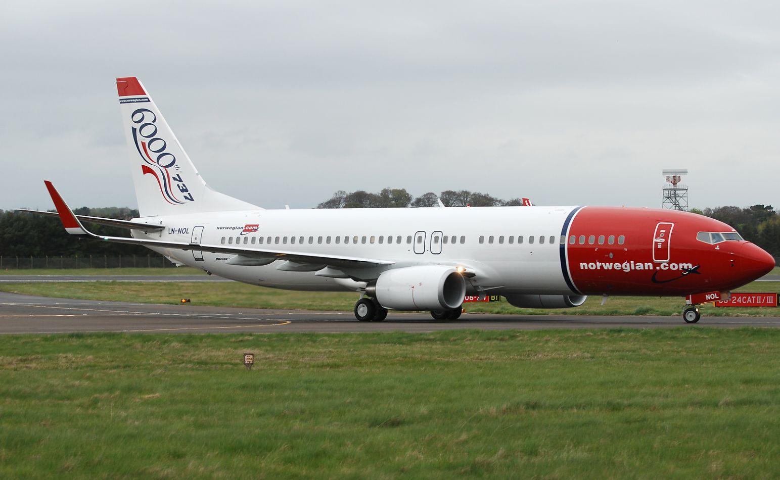 La low cost Norwegian dejaría de volar en Argentina