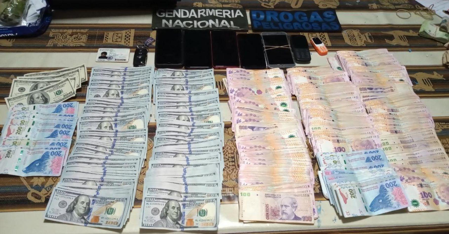 2 mujeres detenidas y más de 300 kilos de droga secuestradas en un mega operativo