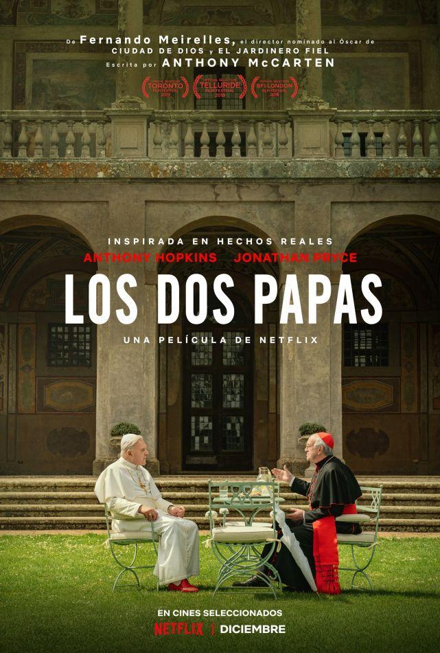 """Netflix estrenará la película """"Los dos Papas"""""""