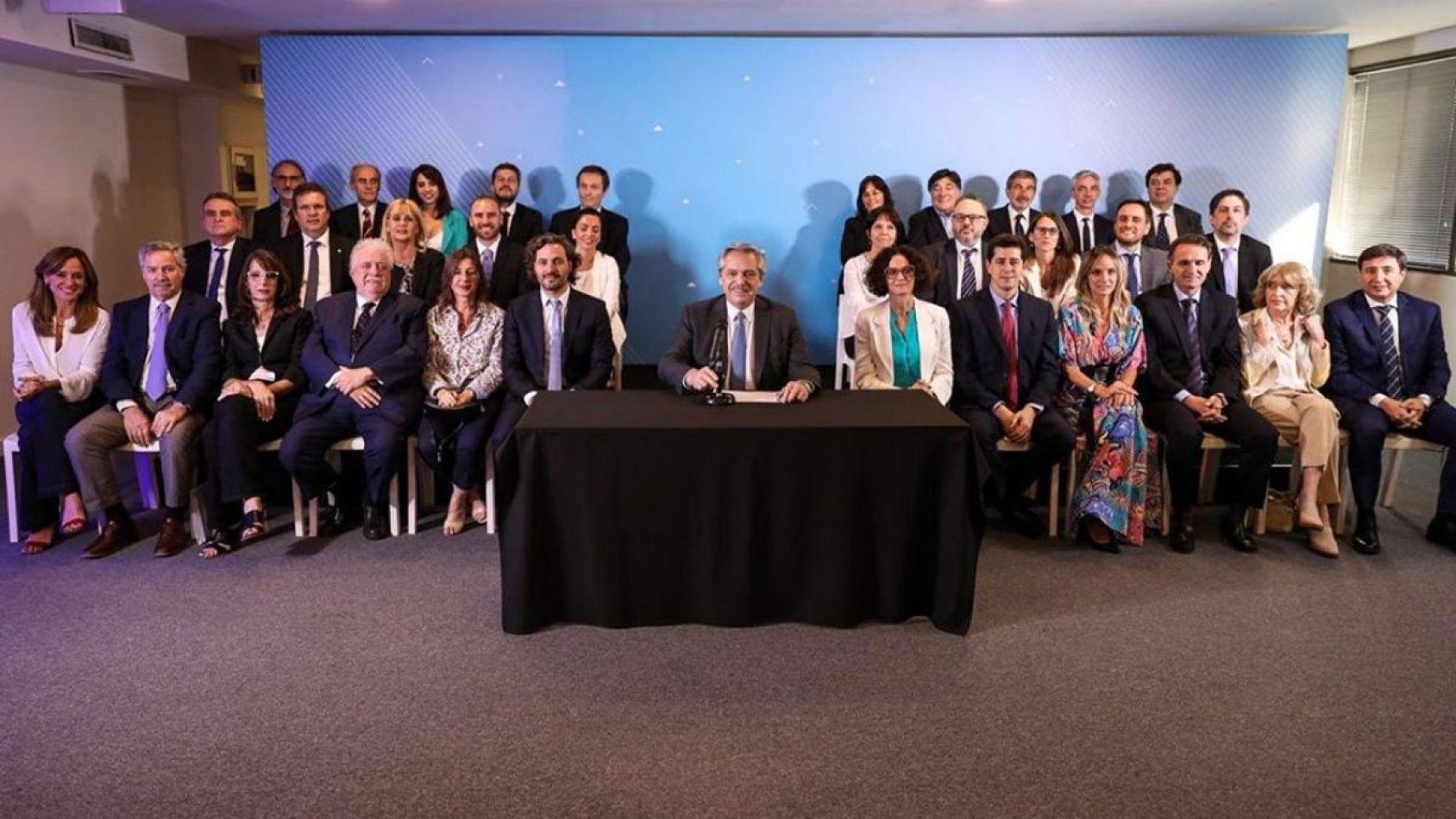 Finalmente Alberto Fernández confirmó todo su Gabinete