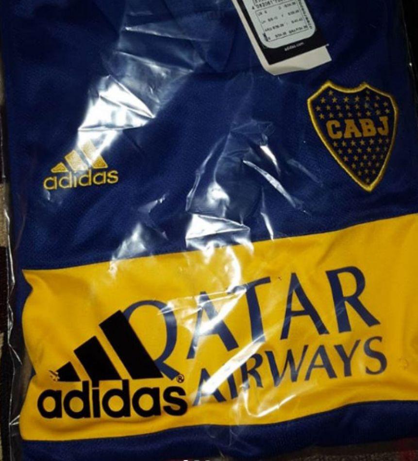 Se conoció la primera camiseta de Boca marca Adidas