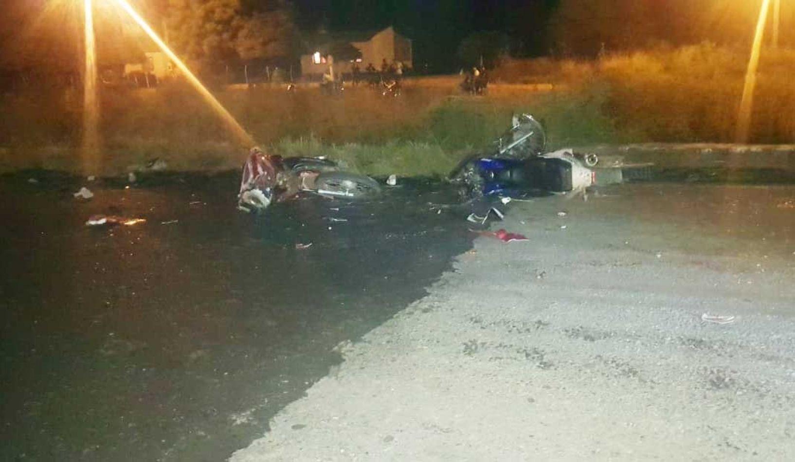Un muerto tras el choque de dos motocicletas
