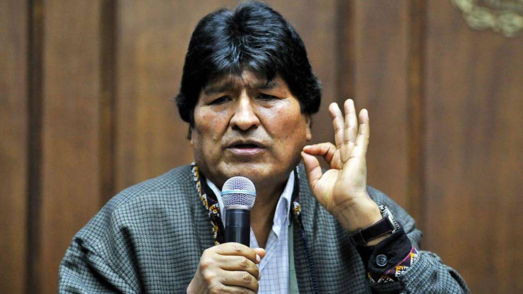 Evo Morales pide organizar milicia armada en Bolvicia como sucede en Venezuela