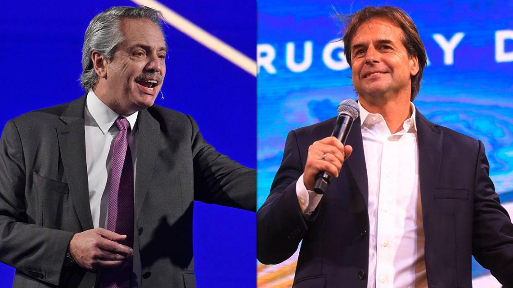Alberto Fernández no irá a la asunción de Lacalle Pou y deja en suspenso la reunión con Bolsonaro