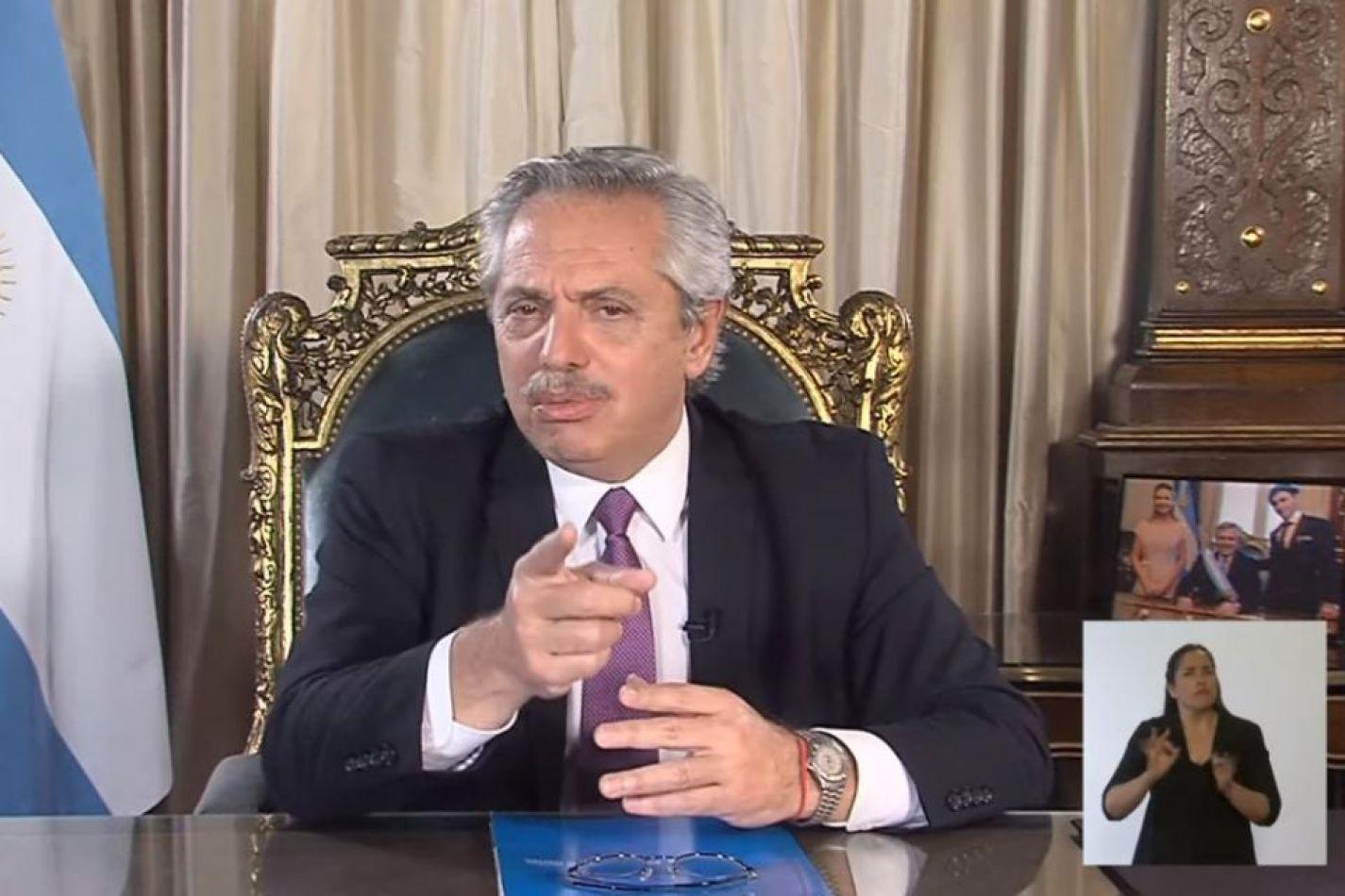 Alberto anunciará el sábado la extensión de la cuarentena