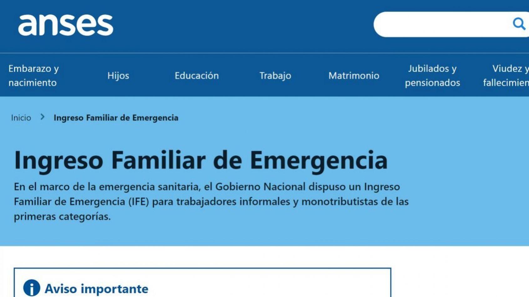Pagarán el IFE por tercer mes consecutivo en todo el país: Sáenz le agradeció a Alberto Fernández