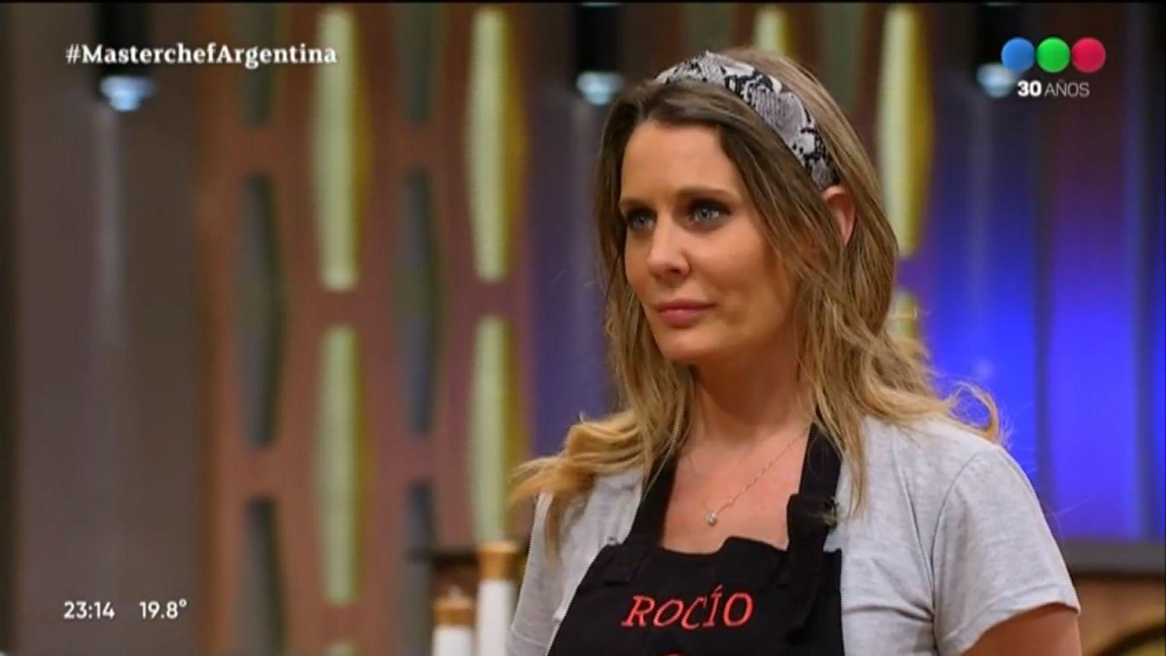 Rocío Marengo fue eliminada de Masterchef Celebrity