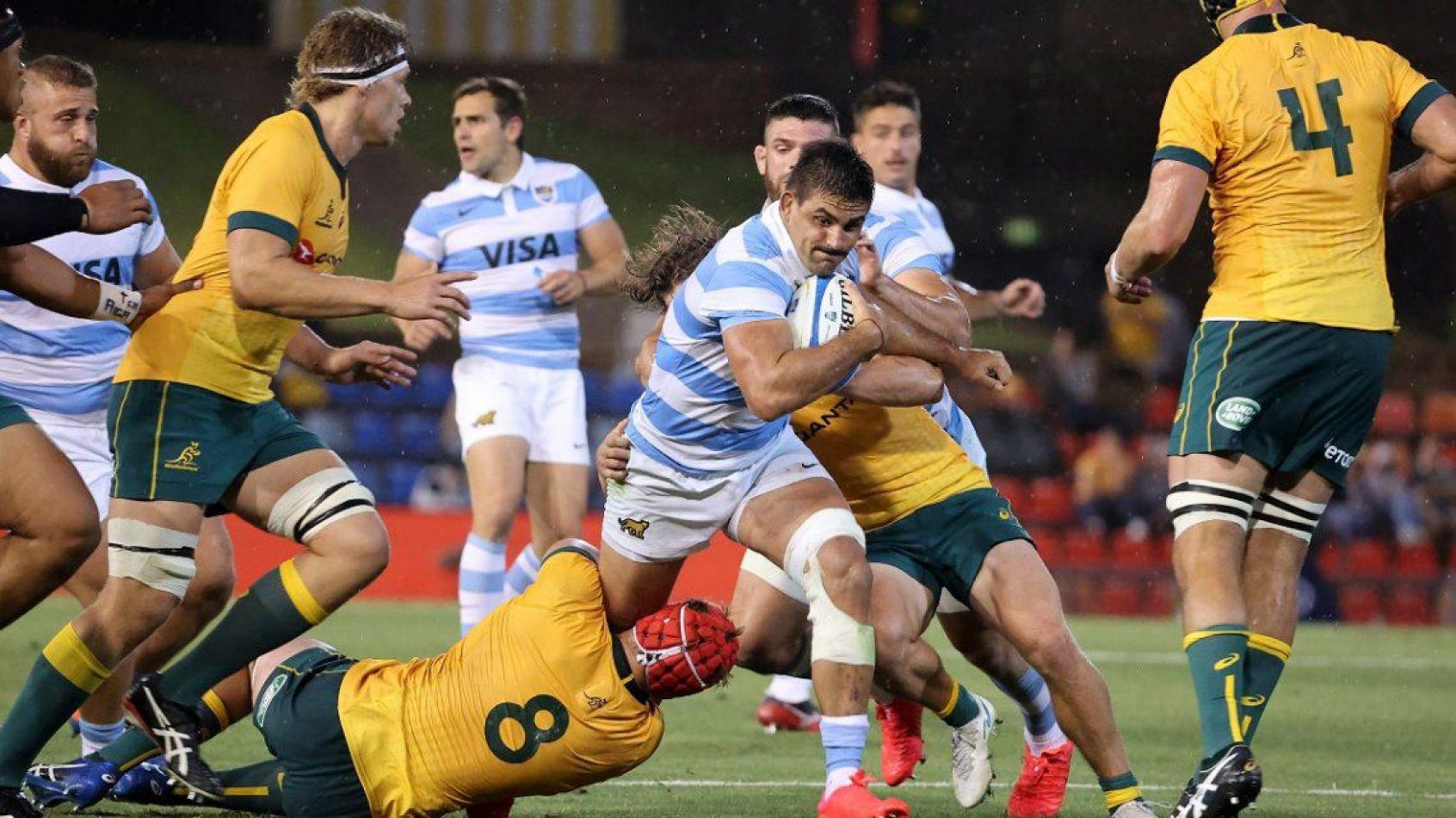 Los Pumas empataron con Australia