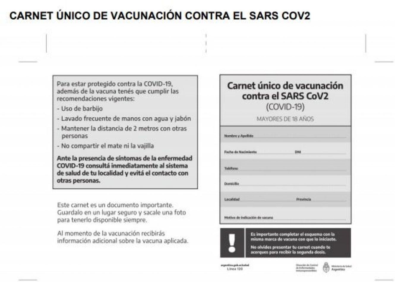 Vacunas VIP: tras el escándalo, Nación compra carnets para certificar a quiénes vacunó
