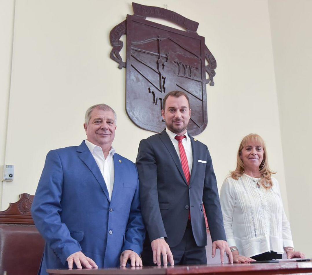 La presidencia del Concejo Deliberante continuará en manos de Darío Madile