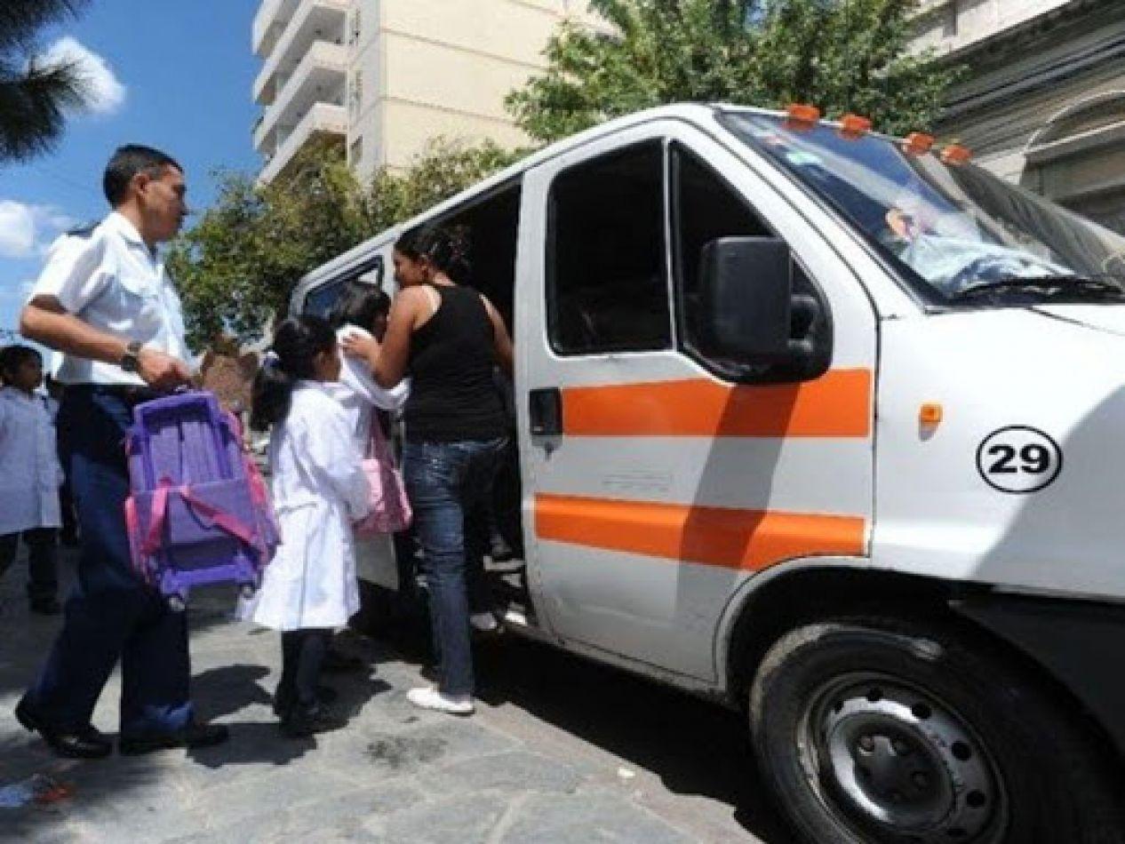 En la ciudad de Salta solo hay 89 transportes escolares habilitados