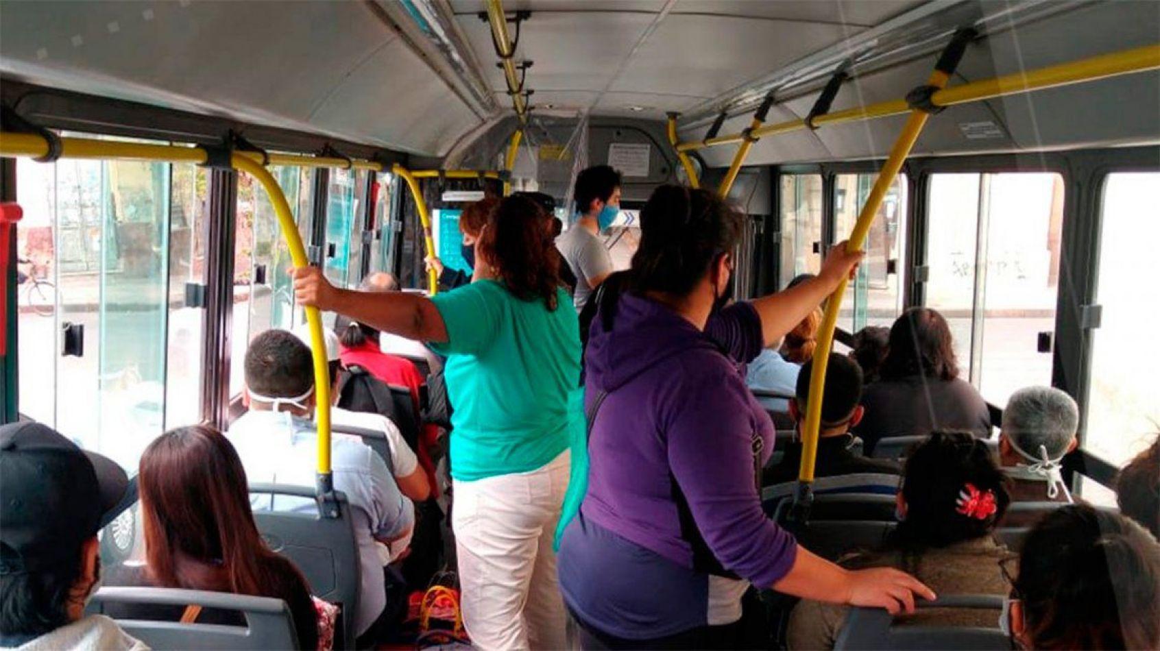 Cómo se usará el colectivo desde el lunes: jubilados después de las 10 de la mañana