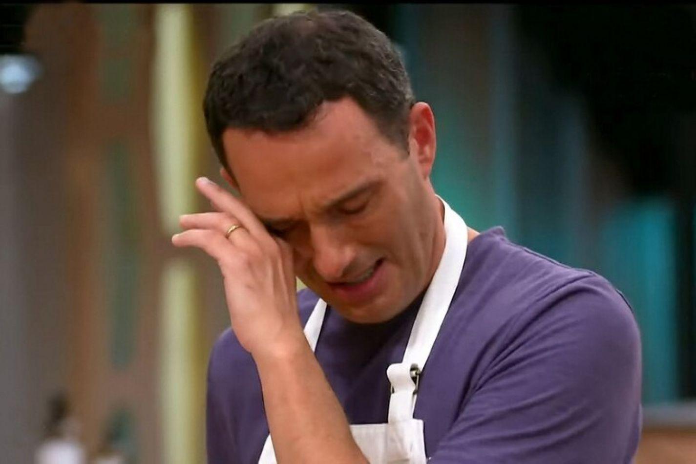 Fernando Carlos eliminado de MasterChef Celebrity
