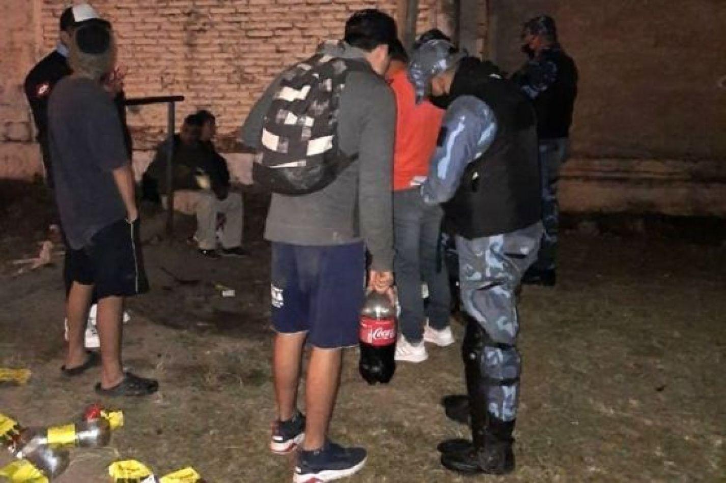 Durante el fin de semana detectaron 42 fiestas clandestinas