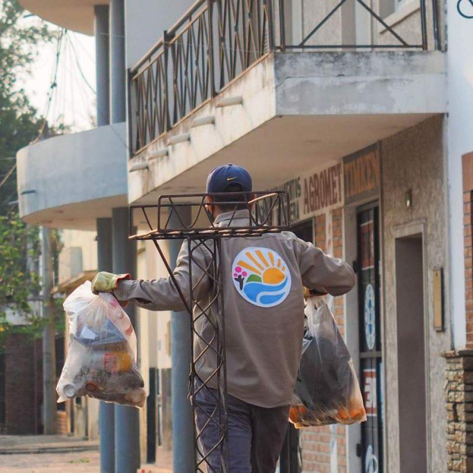 En Orán vacunarán a los recolectores de residuos: en Salta no