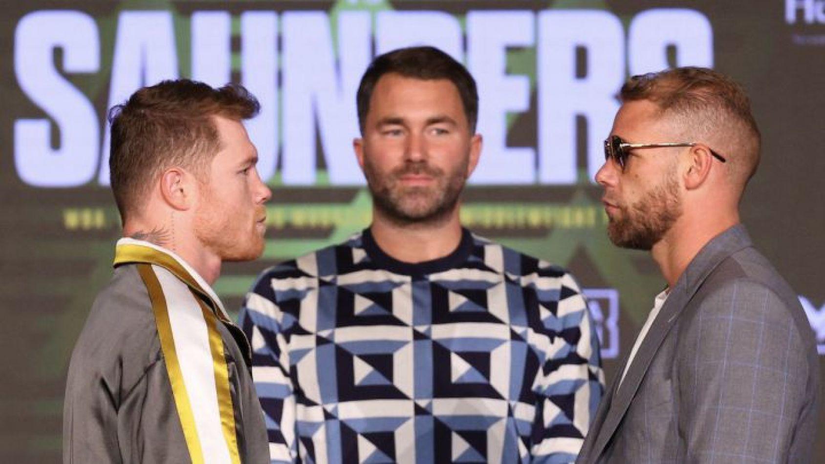 Canelo Álvarez vs Billy Saunders: a qué hora pelean y por qué canal se emite