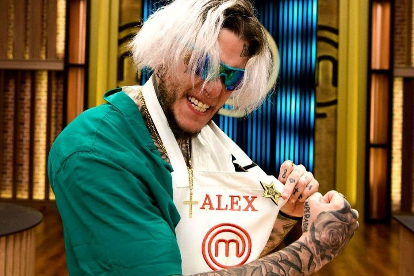 Alex Caniggia fue eliminado de MasterChef Celebrity II