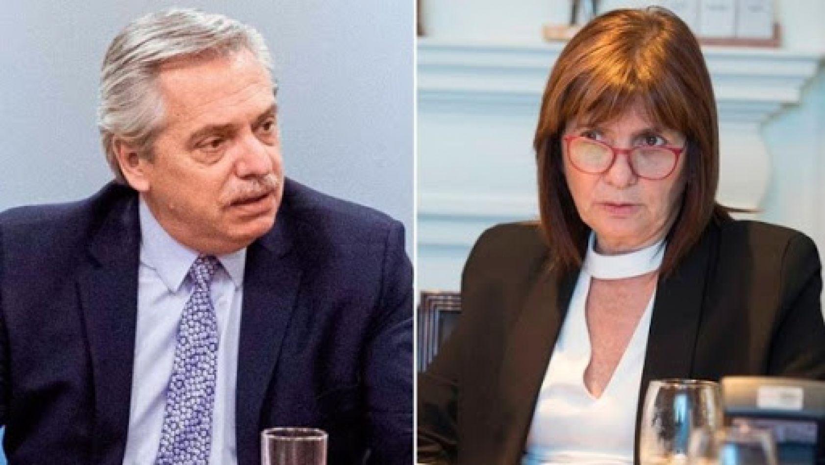 Alberto Fernández demandará a Patricia Bullrich por difamaciones: la mediación no tuvo acuerdo
