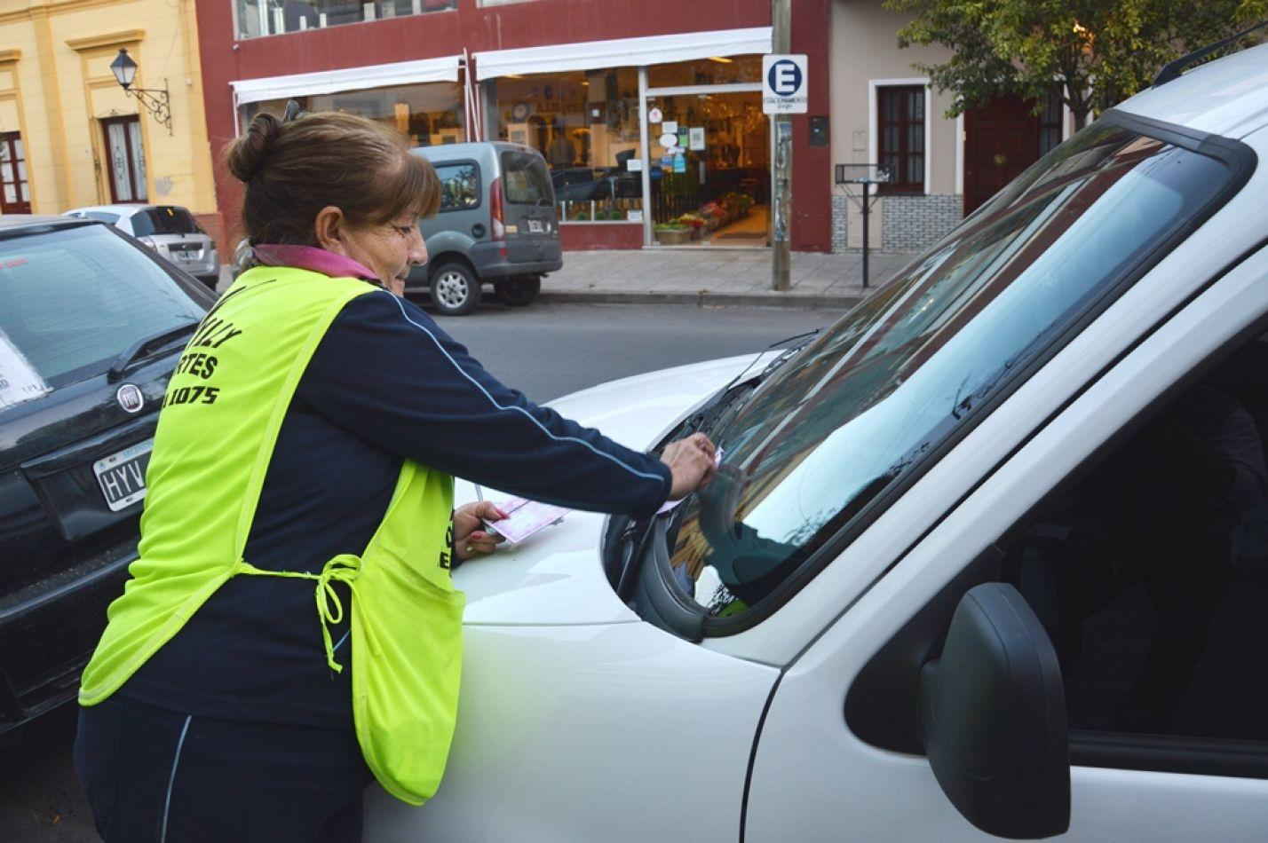 Buscan congelar el valor de los talonarios para el cobro del estacionamiento medido