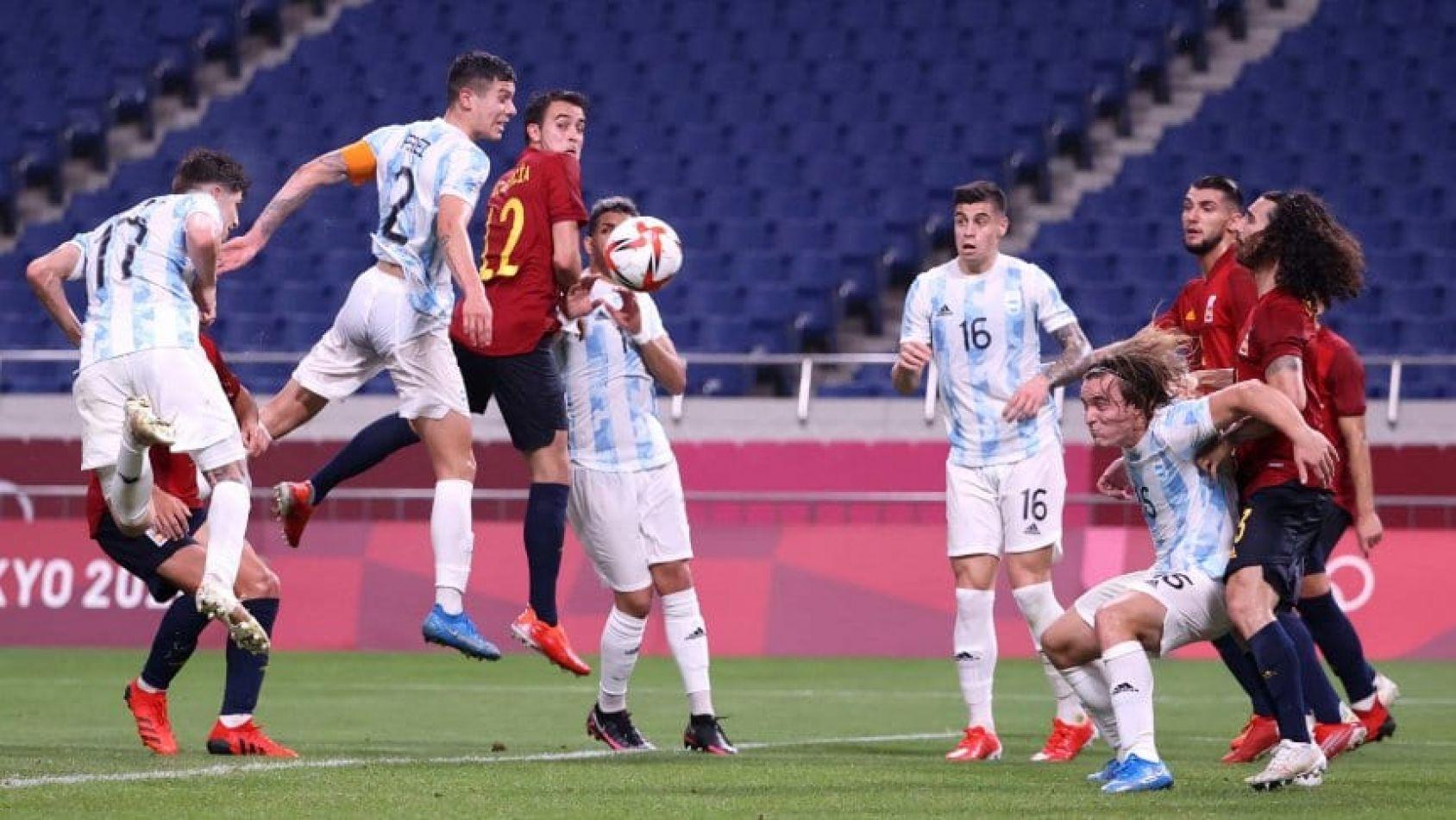 La Selección Argentina de fútbol masculino quedó eliminada de los Juegos Olímpicos