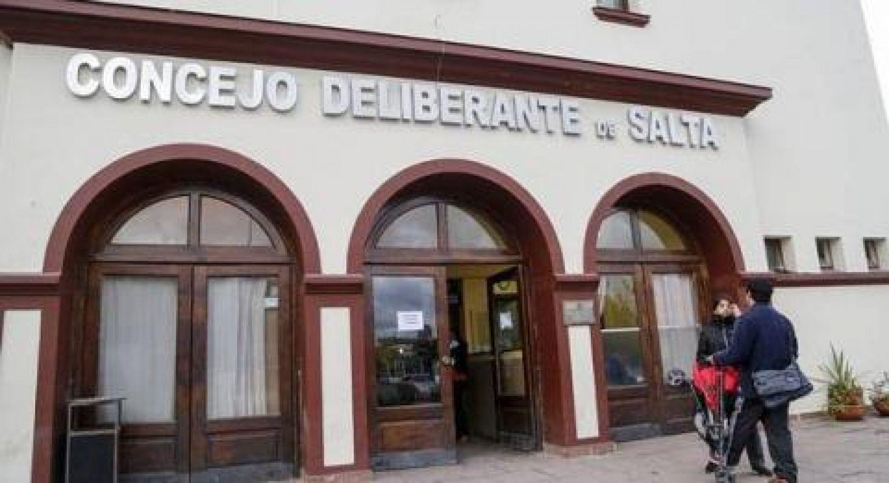 Por un brote de coronavirus no habrá sesión en el Concejo Deliberante de Salta