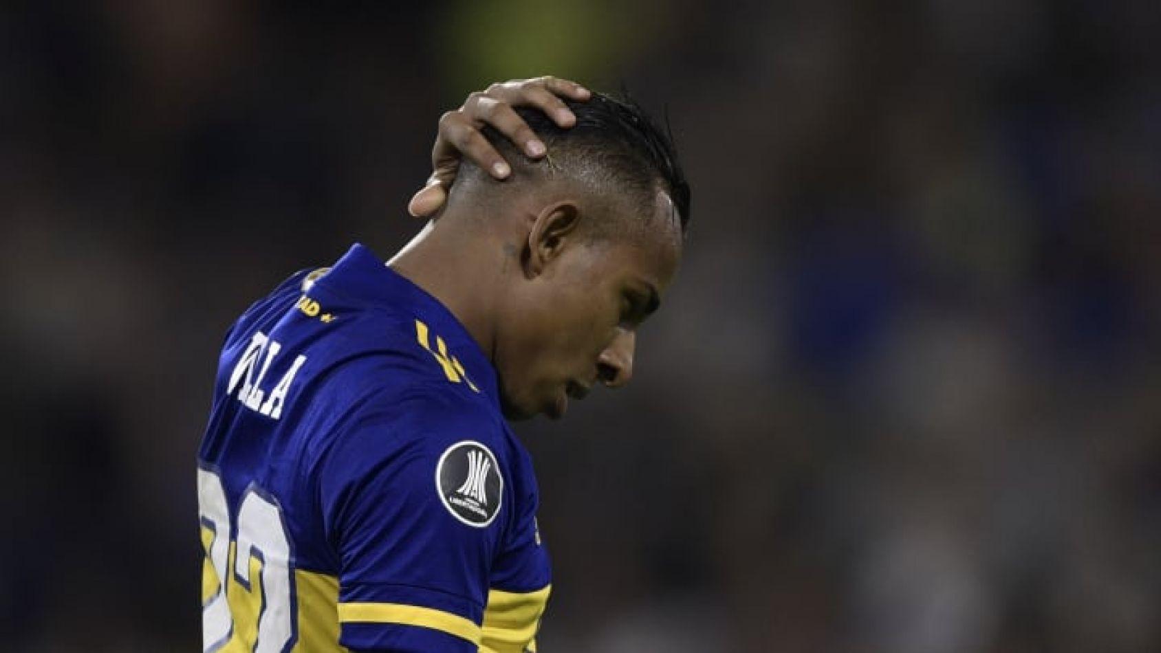Problemas en Boca: Villa se peleó con los dirigentes y no quiere jugar más en el club