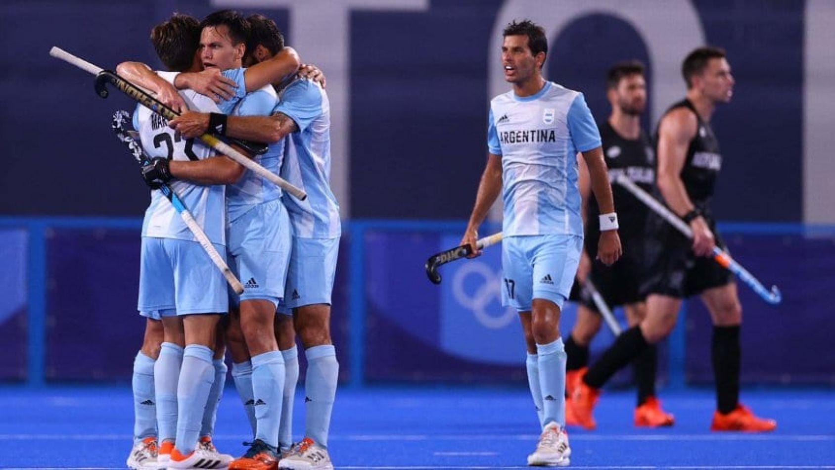 Los Leones vencieron a Nueva Zelanda y accedieron a cuartos de final
