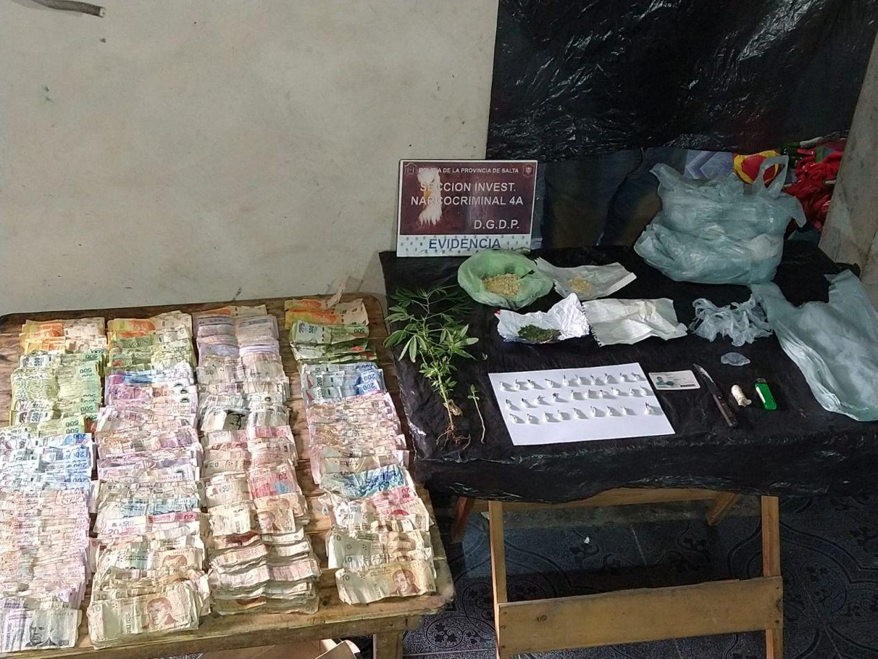 Desbaratan una banda narcocriminal en Salta: hay tres detenidos