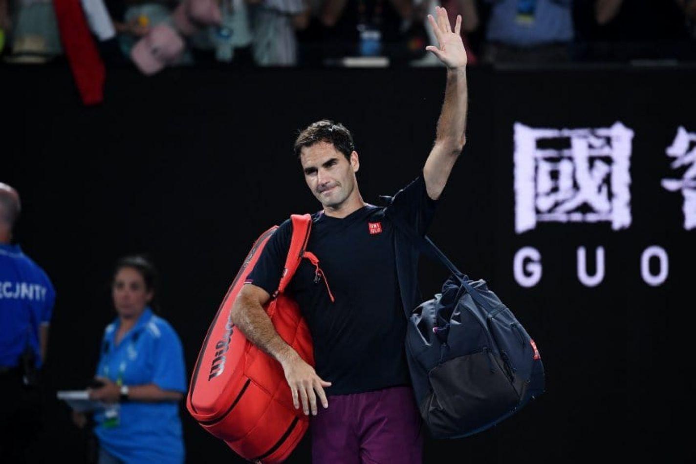 Después de 10 años, Roger Federer saldrá del top ten del ranking de la ATP