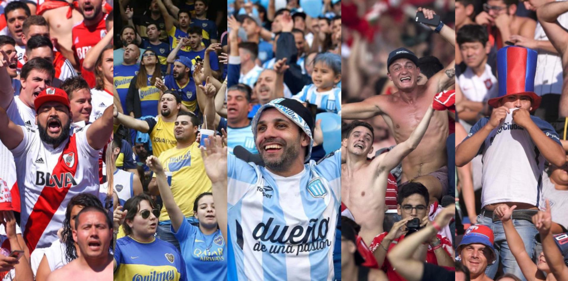 En el 2022 volverían los hinchas visitantes a las canchas argentinas