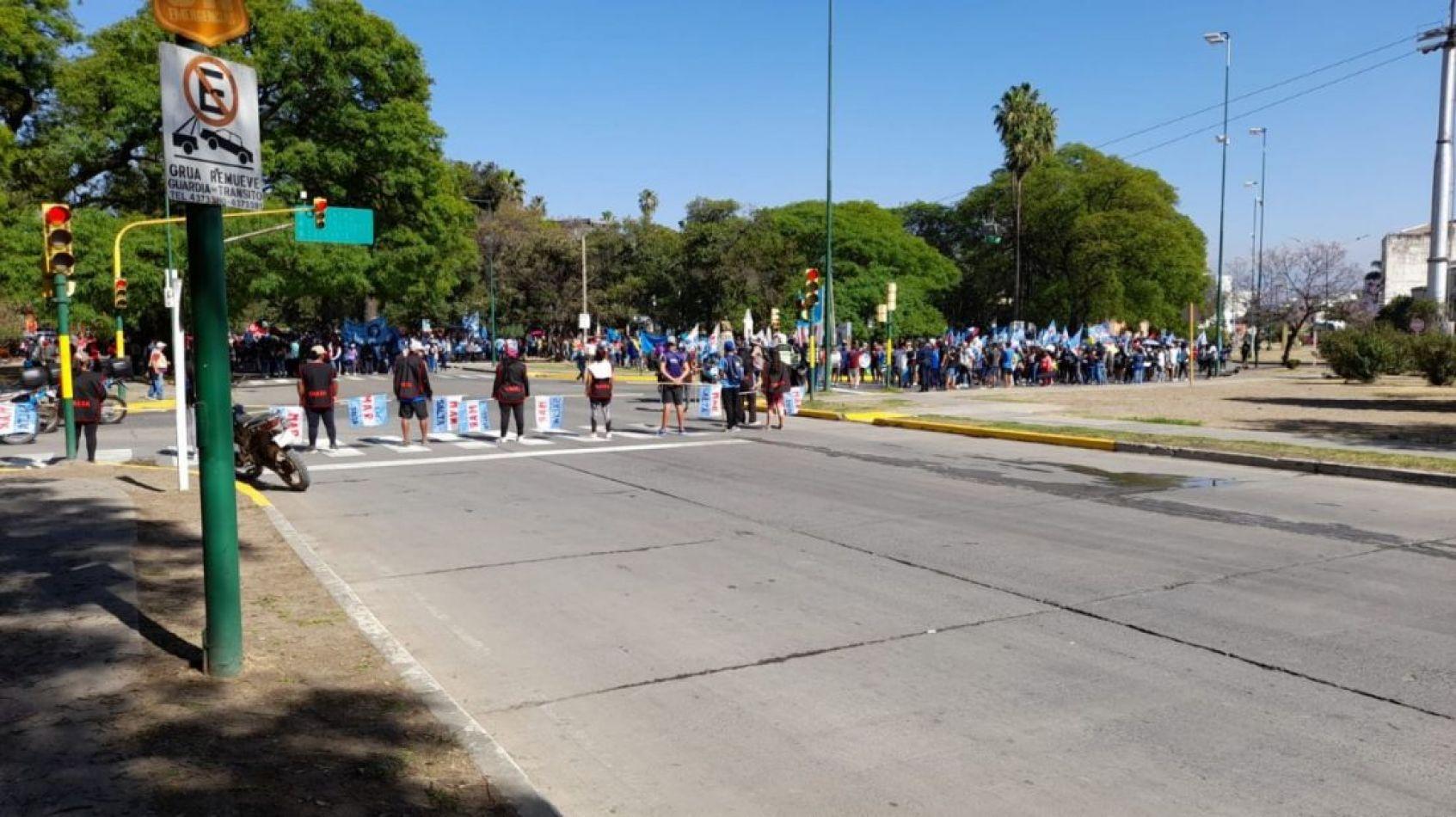 Otra mañana caótica en Salta