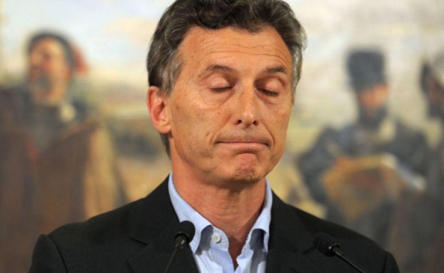 Macri apeló la prohibición de salir del país